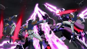 """""""Odd-Eyes Rebellion Dragon"""" devastates the Obelisk Force."""