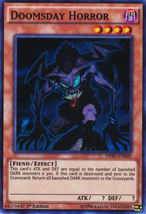 Doomsday Horror - Yugipedia - Yu-Gi-Oh! wiki