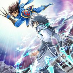 """Blue Dragon Ninja"" and ""White Dragon Ninja"" in the artwork of ""Ninjitsu Art of Shadow Sealing"""