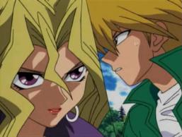 Joey Wheeler and Mai Valentine's Duelist Kingdom Duel