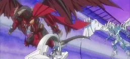 """Red Dragon Archfiend/Assault Mode"" and ""Stardust Dragon/Assault Mode""."