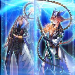 """Dragonpit Magician"" and ""Dragonpulse Magician"" in the artwork of ""Pendulum Call""."