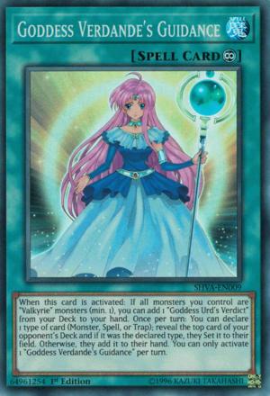 Goddess Verdande's Guidance - Yugipedia - Yu-Gi-Oh! wiki