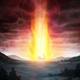 """""""Hazy Flame Cerbereus"""" and """"Hazy Pillar""""."""