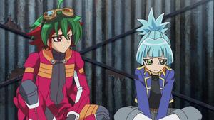 Yuya and Sora discuss their situation.