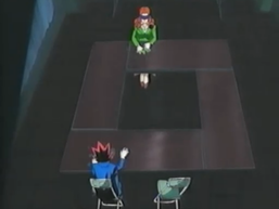 Dark Yugi and Ms. Chono's Shadow Game