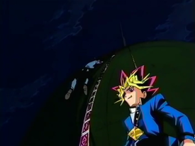 Dark Yugi and Ushio's Shadow Game