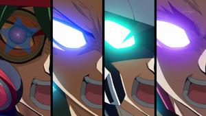 Yuya, Yuto, Yugo and Yuri Awakened