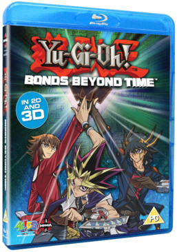 Yu-Gi-Oh! 3D Bonds Beyond Time Blu-ray promotional card