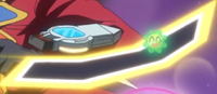 Yusho's Xyz Dimension Duel Disk.png