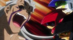 Yusei Fudo, Jack Atlas, Crow Hogan, and Rex Goodwin's Duel