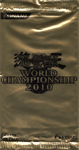 World Championship 2010 Card Pack