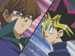 Yami Yugi and Seto Kaiba's Duelist Kingdom Duel