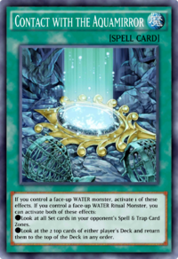 Contact with the Aquamirror (Duel Links) - Yugipedia - Yu-Gi