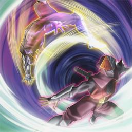 """Flame Armor Ninja"" and ""Earth Armor Ninja"", in the artwork of ""Armor Ninjitsu Art of Teleportation""."