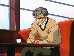 Professor-like man