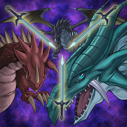 """Clockwise, from top: """"The Fang of Critias"""", """"The Eye of Timaeus"""" and """"The Claw of Hermos"""", in the artwork of """"Legend of Heart"""""""
