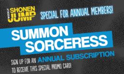 Weekly Shonen Jump May 2018 membership