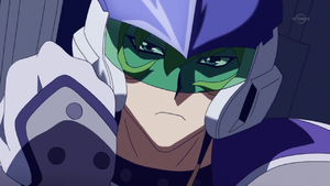 Jack tells Yuya to use his own words and not to borrow those of his father.