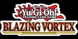 Blazing Vortex Premiere! promotional card