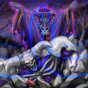 """Artwork of """"Reanimation Wave"""", an example of a card that Special Summons a monster."""