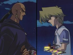 Joey Wheeler and Odion's Battle City Duel