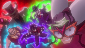 Fearsome Four of the Dark Dueling World