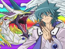 """Jesse with """"Rainbow Dragon"""""""