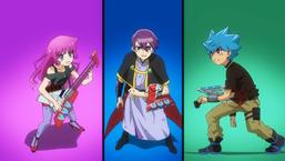 Romin, Gakuto, and Luke resolve to continue fighting.