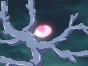 A Crystal Counter as it appears in the anime.