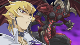 "Jack alongside ""Red Dragon Archfiend""."