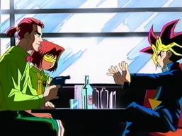 Dark Yugi and Jiro's Shadow Game
