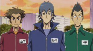 Taro, Jinbei, Yoshizo