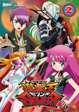 Yu-Gi-Oh! SEVENS Duel-2 Blu-ray & DVD promotional card