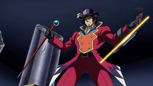 Yusho prepares his Dueltainment.