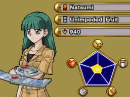 Natsumi, in Over the Nexus