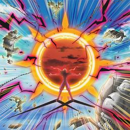 """Ansatsu"" in the artwork of ""Elimigate""."