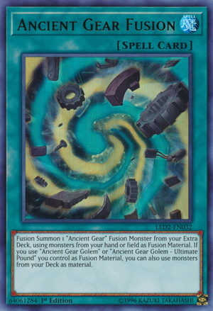 Ancient Gear Fusion - Yugipedia - Yu-Gi-Oh! wiki