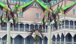 """Z-ARC and two copies of """"Supreme King Dragon Darkwurm"""""""