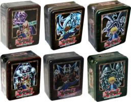 Booster Pack Collectors Tins 2002