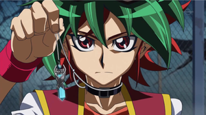 Yuya compares Aster's heart to his pendulum.
