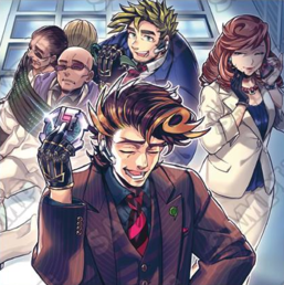 """Clockwise from top: """"SPYRAL Tough"""", """"SPYGAL Misty"""" and """"SPYRAL Super Agent"""" in the artwork of """"SPYRAL MISSION - Recapture"""""""