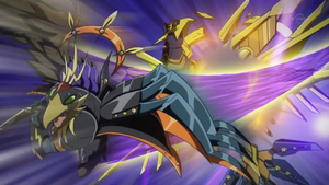 """Assault Blackwing - Onimaru the Divine Thunder"" clashes with ""Raidraptor - Ultimate Falcon""."