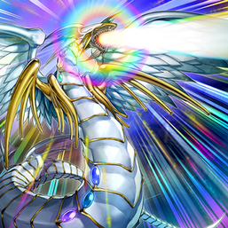 """Rainbow Dragon"" in the artwork of ""Rainbow Refraction"""