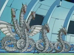 """Half Token"" in the form of ""Cyber End Dragon"" and three ""Cyber Dragons"""