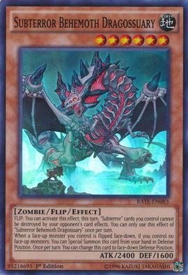 Subterror Behemoth Dragossuary