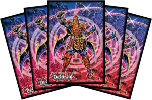Legendary Six Samurai - Shi En card sleeves.