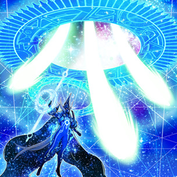 """Astrograph Sorcerer"" in the artwork of ""Star Pendulumgraph"""