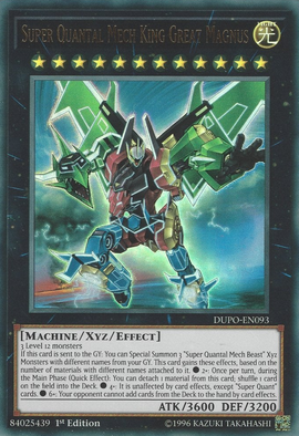 Super Quantal Mech King Great Magnus