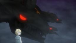 "Neiru Saionji with ""Yggdrago the Heavenly Emperor Dragon Tree"""